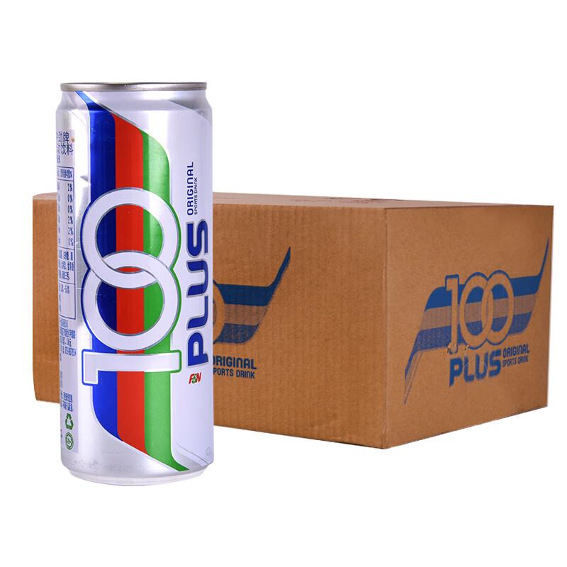 100冲劲 原味运动饮料325ml*24罐*2件