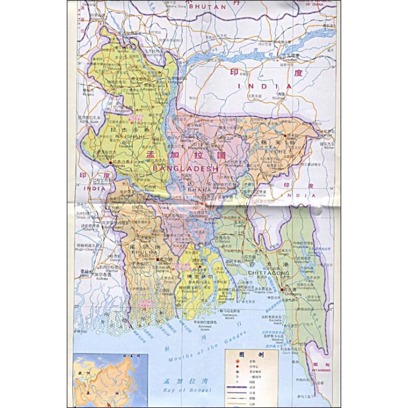 斯里兰卡地图