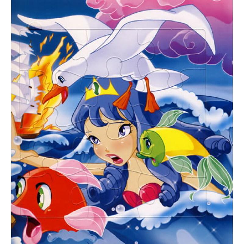 5个奇妙的拼图:小美人鱼