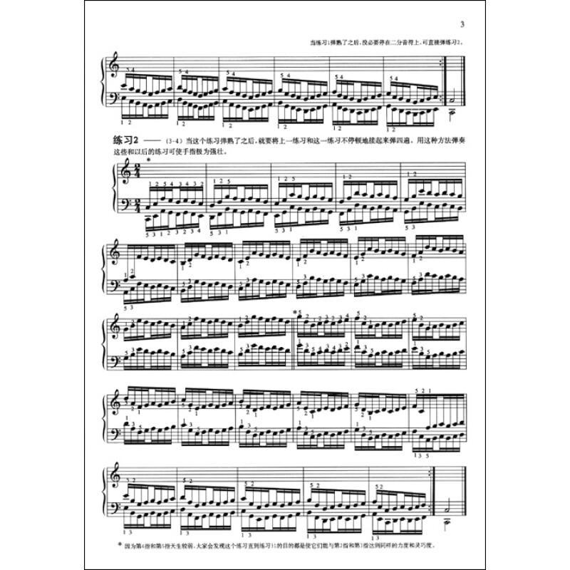 《哈农钢琴练指法》([法]哈农)【摘要
