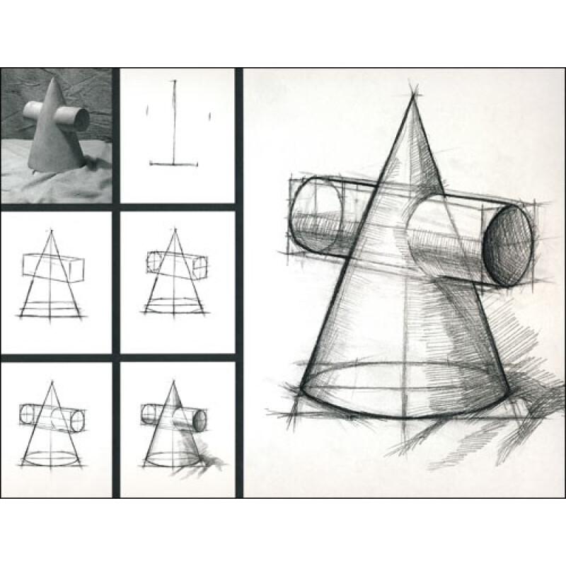 《绘画学习正规入门教科书:开始学画素描(上)》
