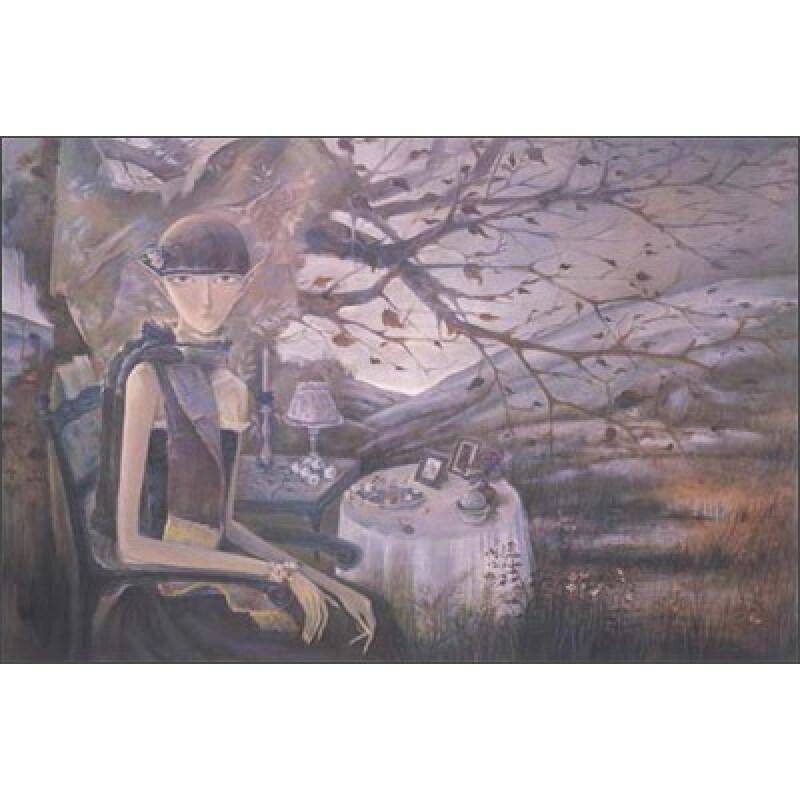 中国当代油画家作品集 黄茹