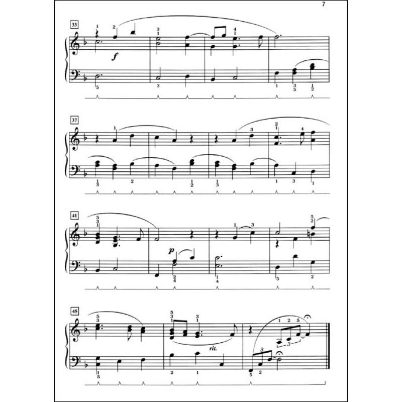 法语哈巴涅拉钢琴曲谱