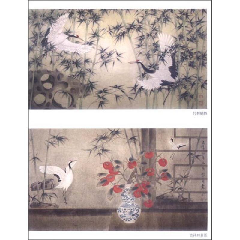 中国画技法 工笔仙鹤画法图片