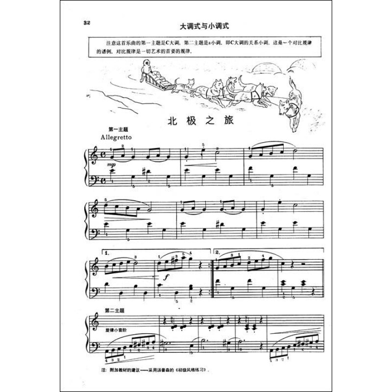 约翰·汤普森现代钢琴教程2报价图片
