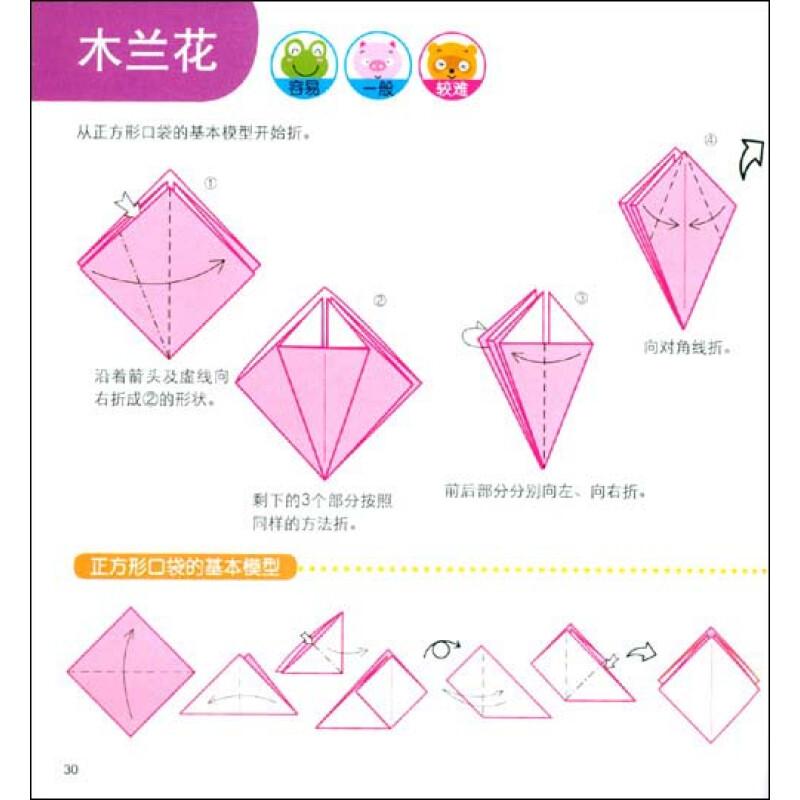 小小孩折纸系列 小小孩折纸5