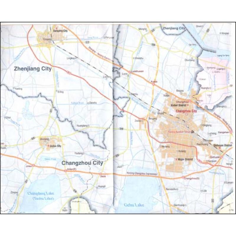 无锡旅游地图(英文版)