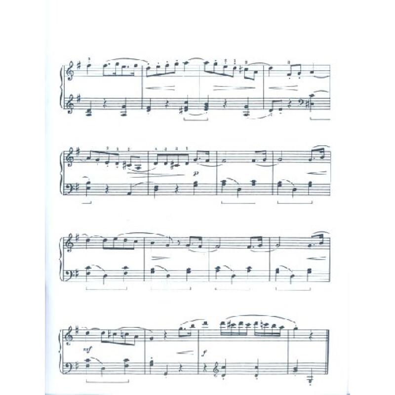 钢琴五级断奏曲谱子