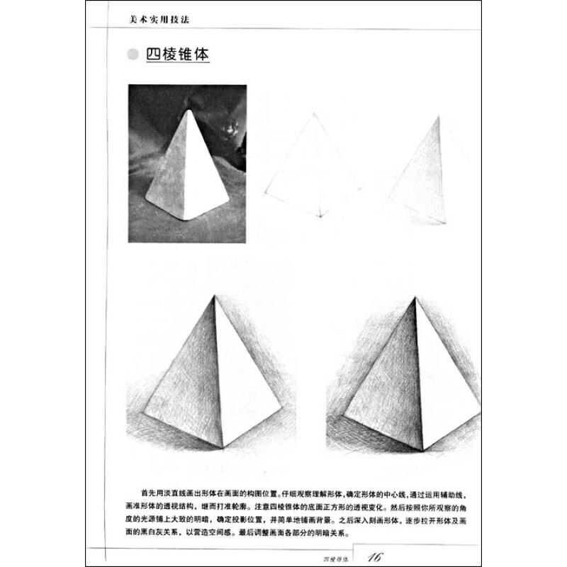京东商城 美术实用技法 素描 入门 单体静物报