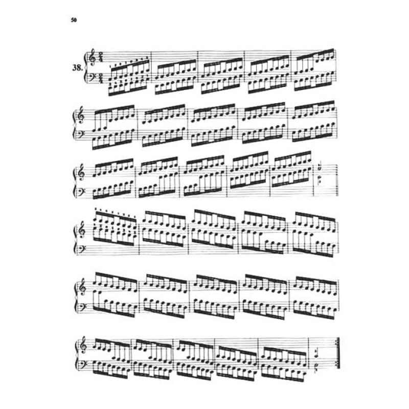 哈农钢琴练指法(附十二调的和弦)