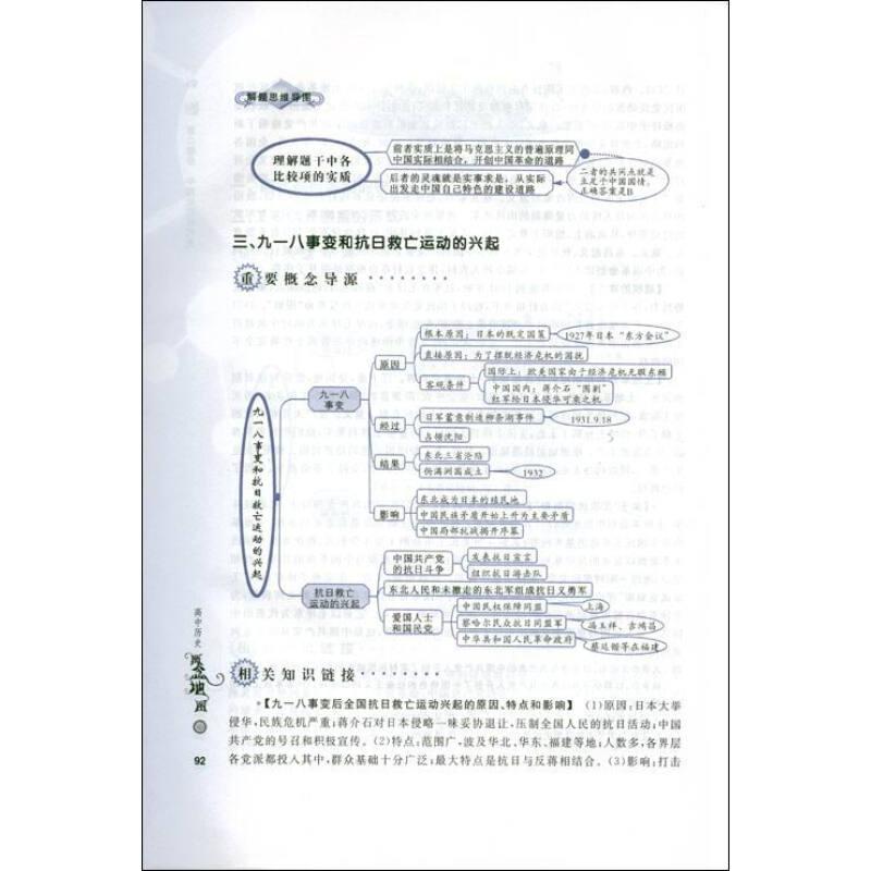 《中学概念地图丛书:高中历史概念地图》(贝桂鸾)
