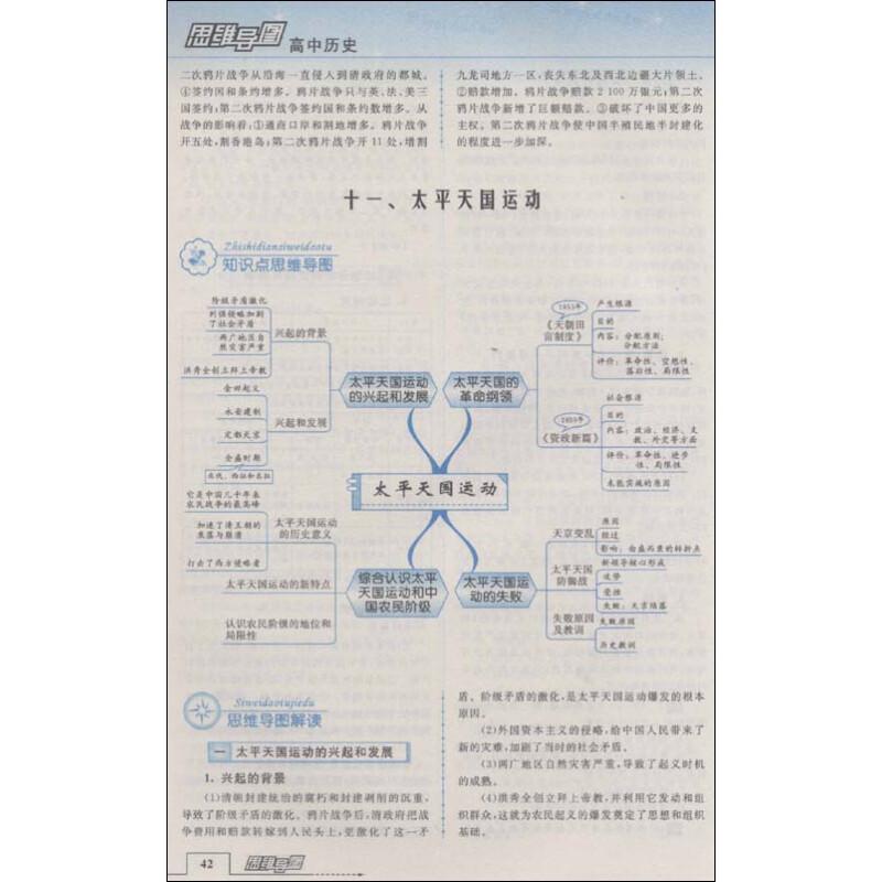《思维导图:高中历史(修订版)》