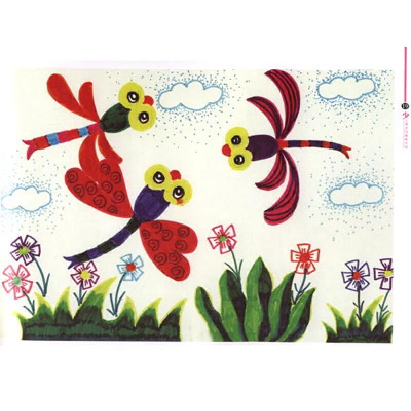 幼儿水彩笔画作品图片大全 魅力儿童水彩笔简笔画