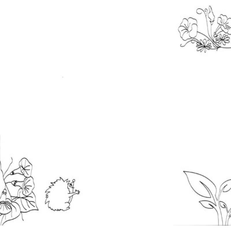 ppt 背景 背景图片 边框 简笔画 模板 设计 手绘 线稿 相框 800_800