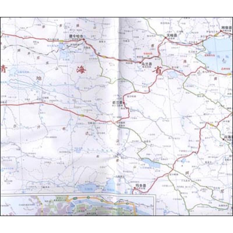(京东商城)甘肃省地图(加盒)报价/京东商城甘肃陕西