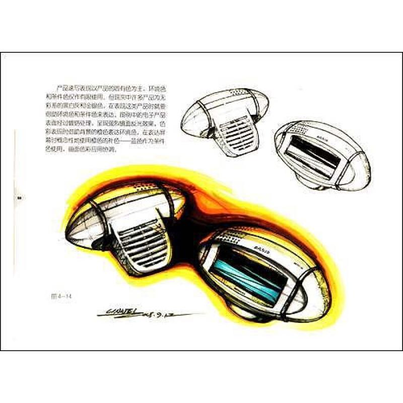 视觉笔记:产品设计速写图片