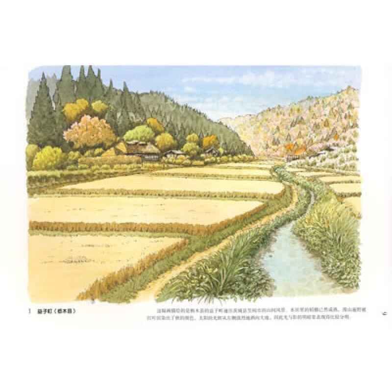 绘画 彩铅/铅笔画 大人的涂绘:田园风景篇