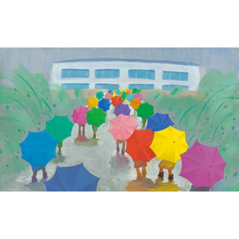 少儿 绘本 黄雨伞