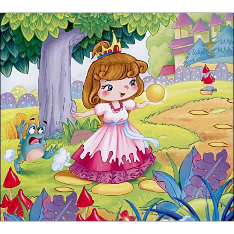 世界童话典藏绘本 青蛙王子