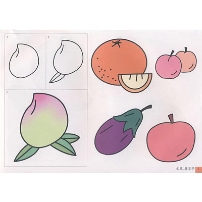 少儿 美术/书法 手痒痒彩色版·彩色版简笔画标准图谱(植物等)