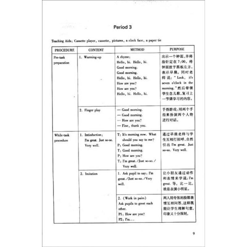 小学牛津英语教案集(1年级)