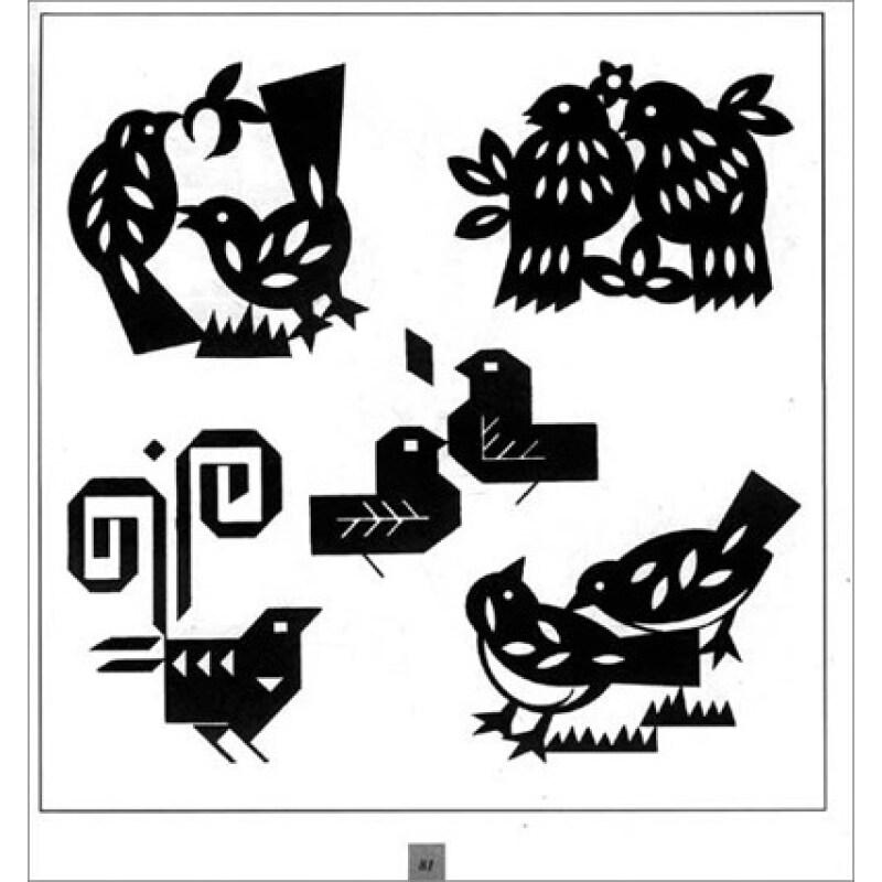动物装饰变形手绘