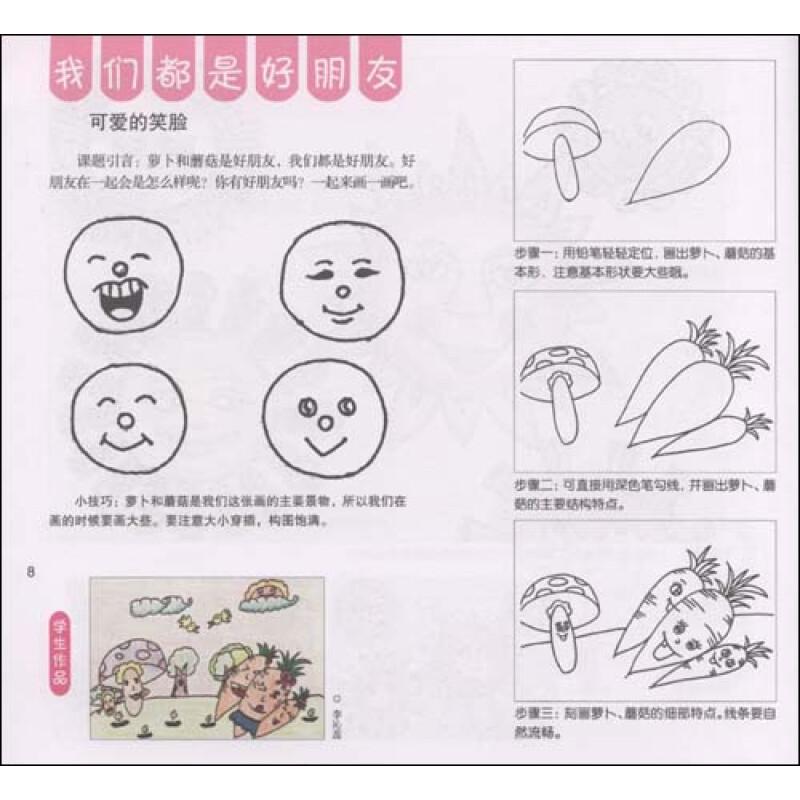 《童年印象·儿童画实用教程:想象画》