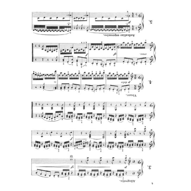 车尔尼160首八小节钢琴练习曲(作品821)