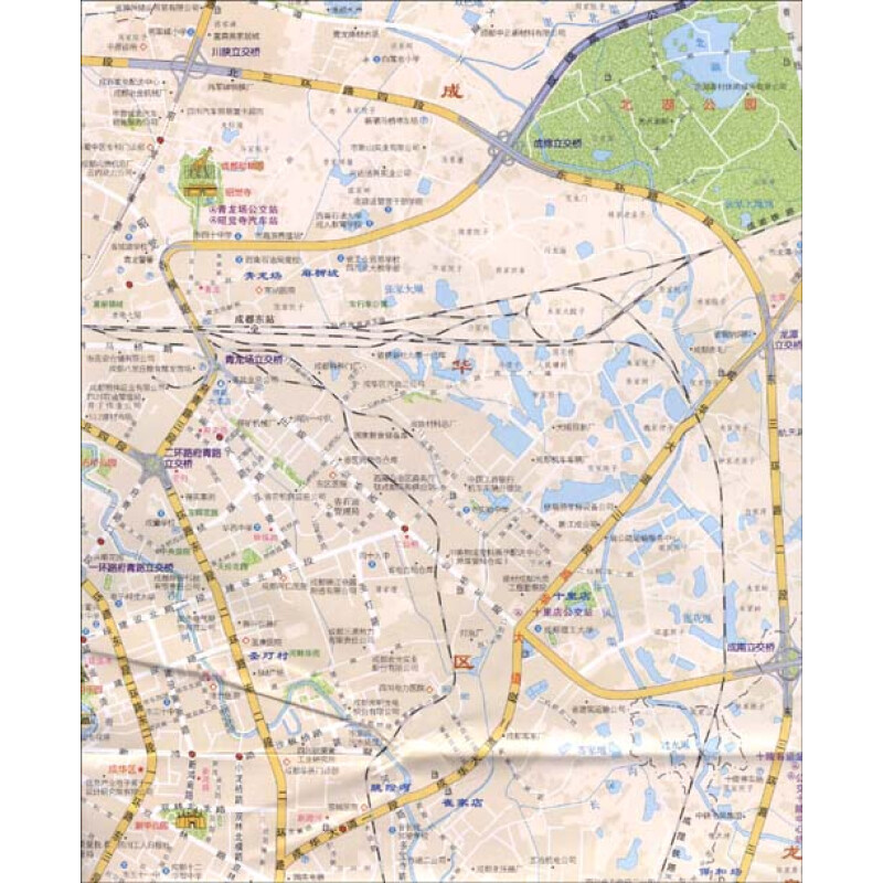 查看全部>>; 《四川·成都》(成都地图出版社); 成都地图