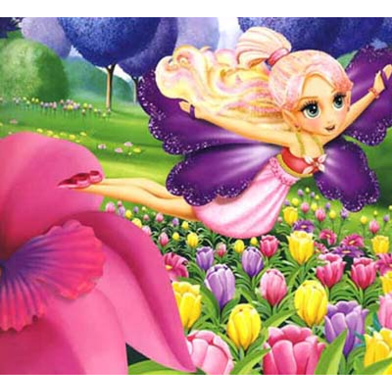 芭比之迷人花仙子_《芭比公主故事》之《迷人花仙子》_肉肉宝贝