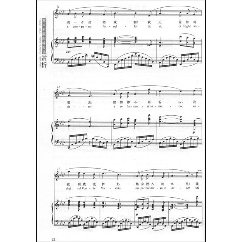 意大利歌剧咏叹调赏析(精选女高音十二首)(附光盘)