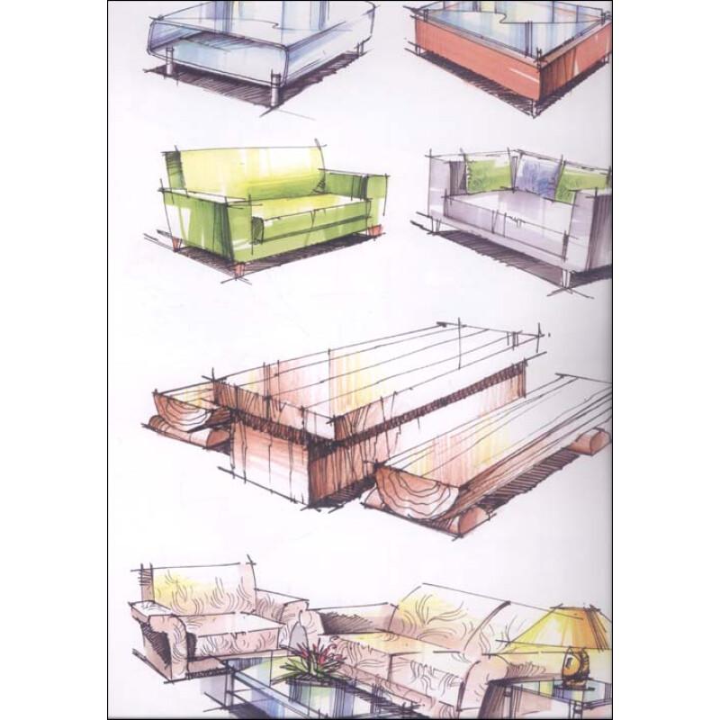 (京东商城) 环境艺术设计手绘效果图训练范本:单体陈设表现报价
