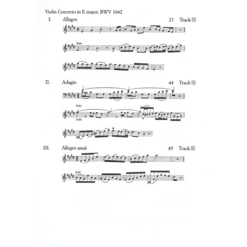 巴赫a小调小提琴协奏曲bwv1041 d大调小提琴协奏曲bwv1042 d小调双小