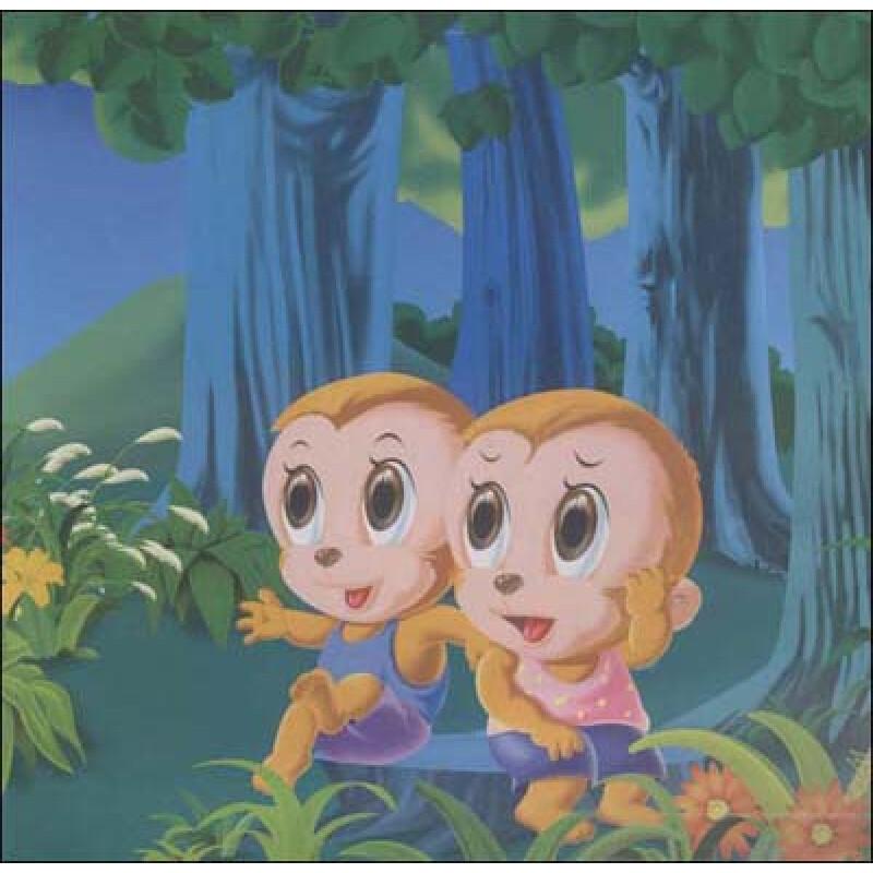 猴子捞月亮无删减版,儿童故事高清