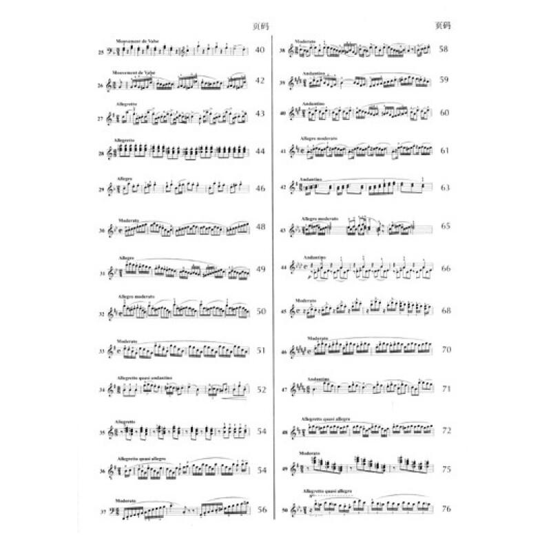 莱蒙钢琴练习曲(附mp3)
