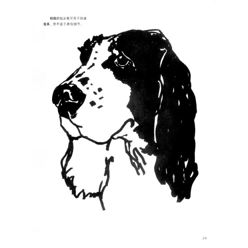 怎样画狗/英国a&c black动物画技法系列教材
