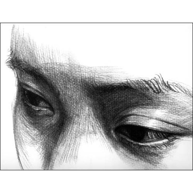 五官的位置 1._素描五官的详细画法,素描五官的画法图解图片