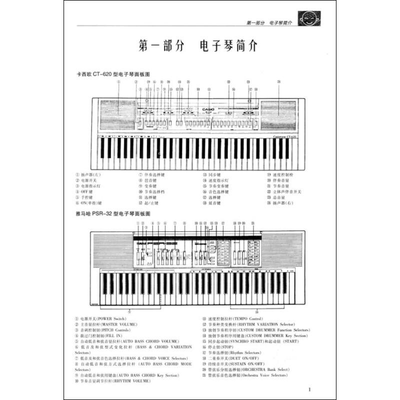《少年儿童电子琴系列教程:少年儿童电子琴初级教程