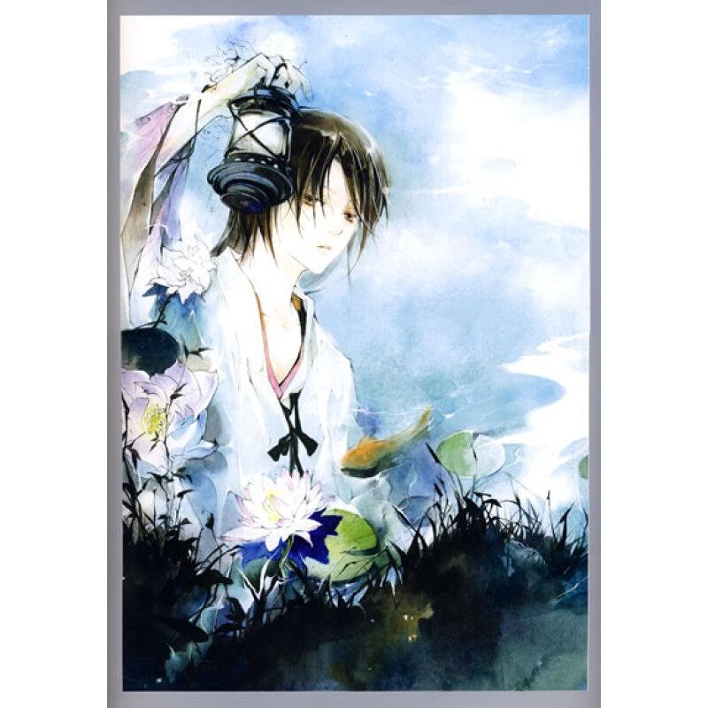 动漫 大陆动漫 银莲花:经典手绘古风画集