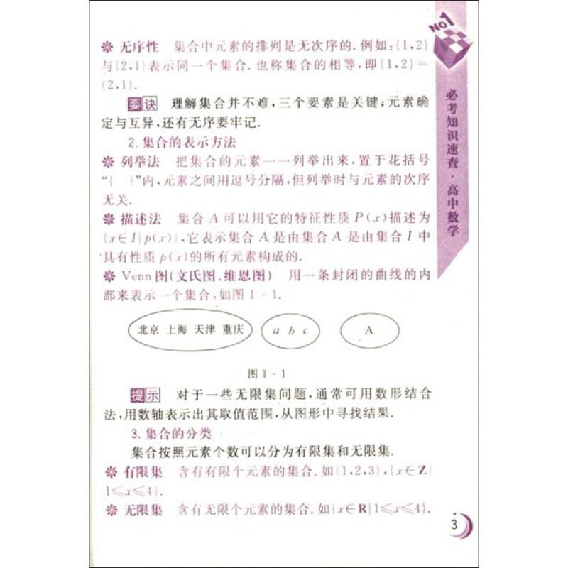 《必考知识速查:高中数学》【摘要
