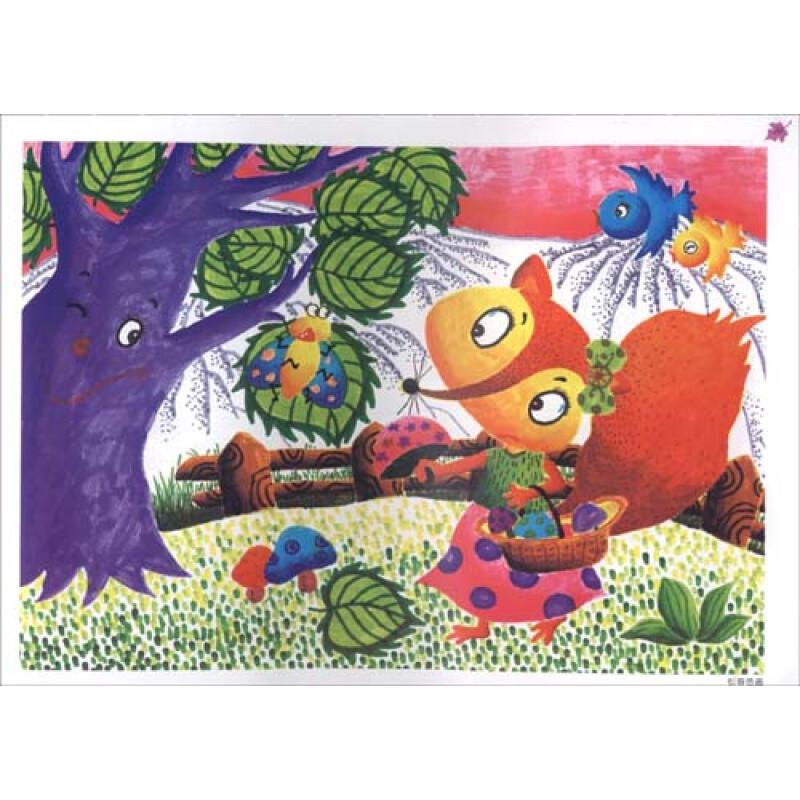 童彩笔画_艺术童年创意彩笔画