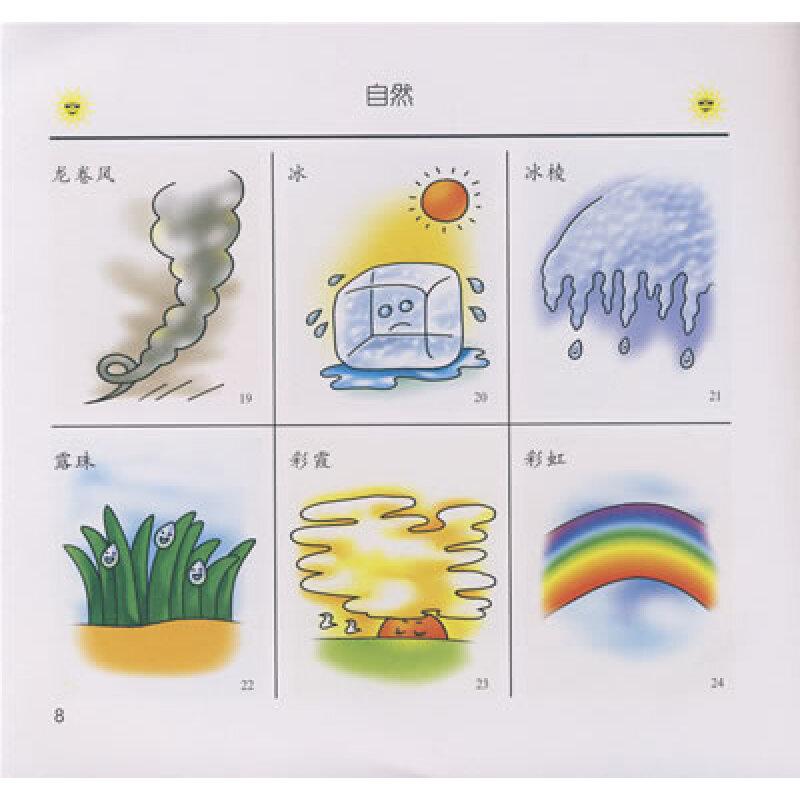 水稻简笔画儿童画