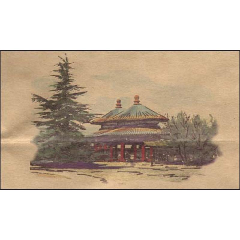 《北京手绘旅游地图:天坛》【摘要