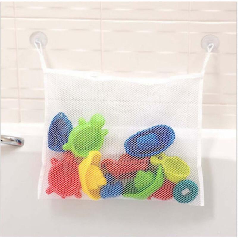 Как сшить сетку для игрушек в ванную