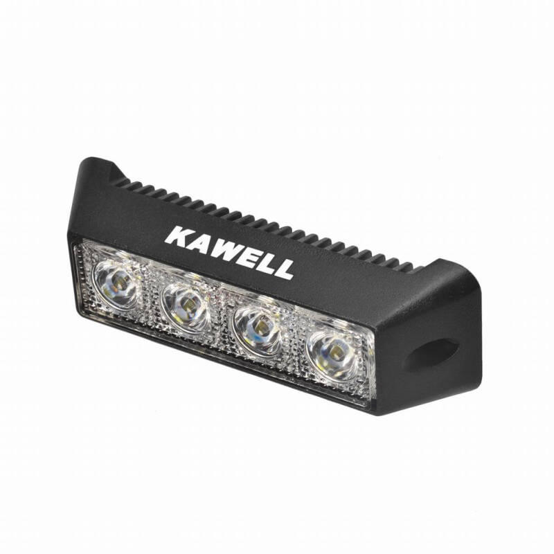 "KAWELL LED Work Light 5.5"" Inch 12W CREE 9-32V Flood Lamp for Motorcycle Tractor Truck Trailer SUV Off roads Boat 4WD 4x4"