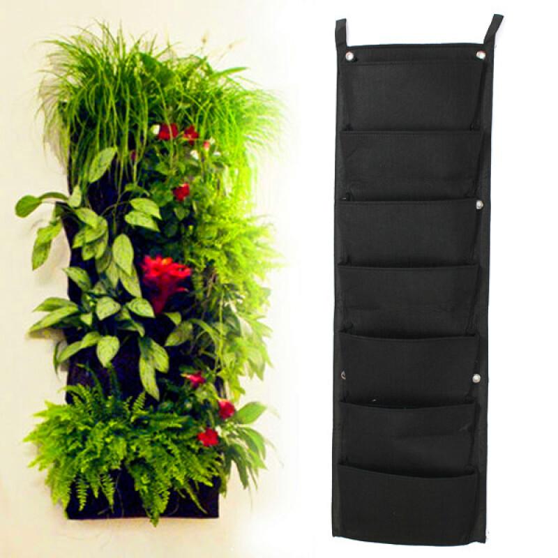 Карманы для цветов на стену