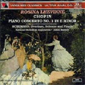 专 辑 肖邦 第一 第二钢琴协奏曲,舒曼 序曲 诙谐曲和终曲 列文涅图片