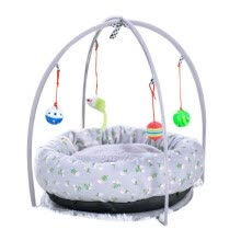 -Pet Cat Bed Cat Play Tent Toy Mobile Activity Playing Bed Cat Bed Pad Blanket House Pet Furniture House With Ball Outdoor on JD