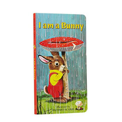 I Am a Bunny (A Golden Sturdy Book)我是一只兔子 低幼童纸板书 英文原版