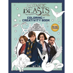 Fantastic Beasts and Where to Find Them: Coloring and Creativity Book 神奇动物在哪里:涂色创意书 英文原版